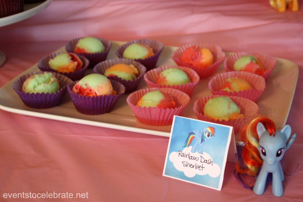 My Little Pony Party Treats - eventstocelebrate.net