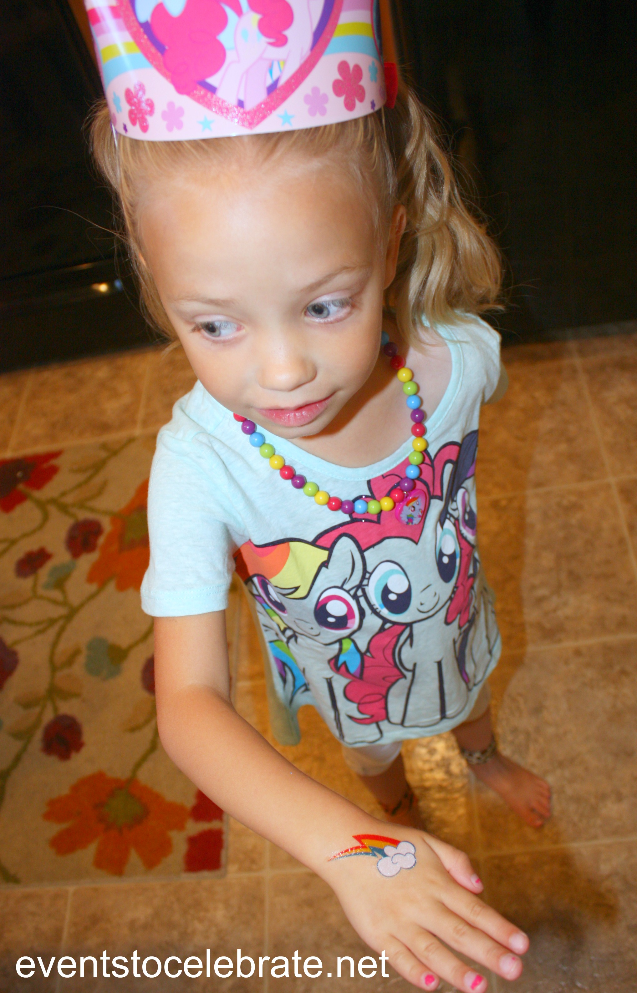 My little pony tattoos events to for Kids with real tattoos