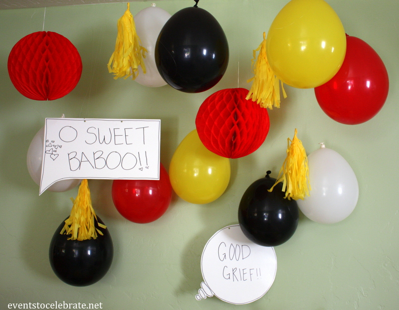 Peanuts Birthday Party Ideas - Events To Celebrate