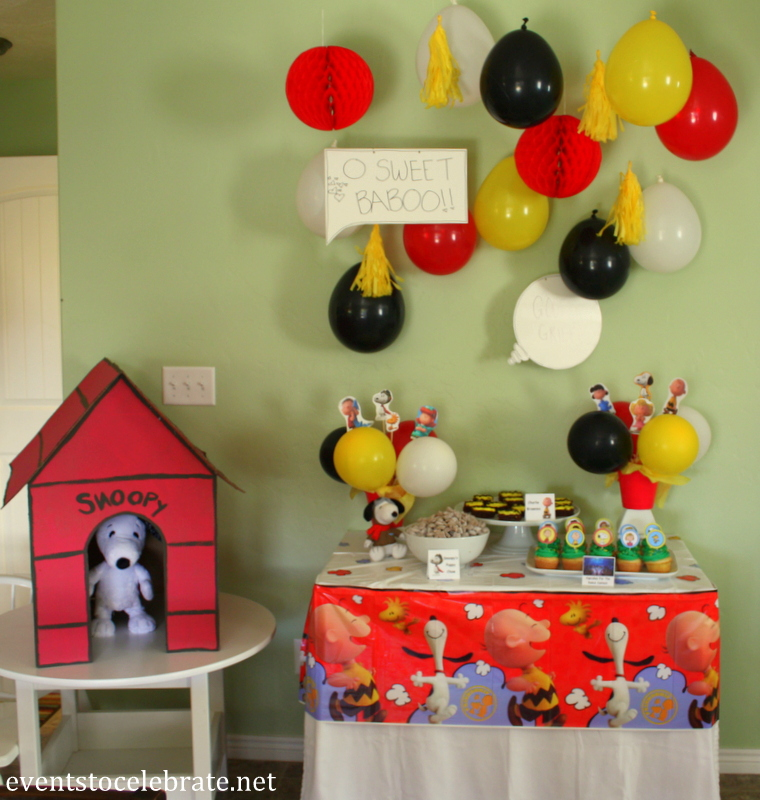 Peanuts Birthday Party Ideas Events To Celebrate