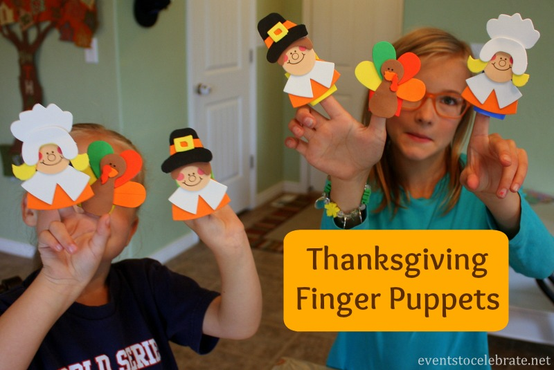 Thanksgiving Craft for Kids - eventstocelebrate.net