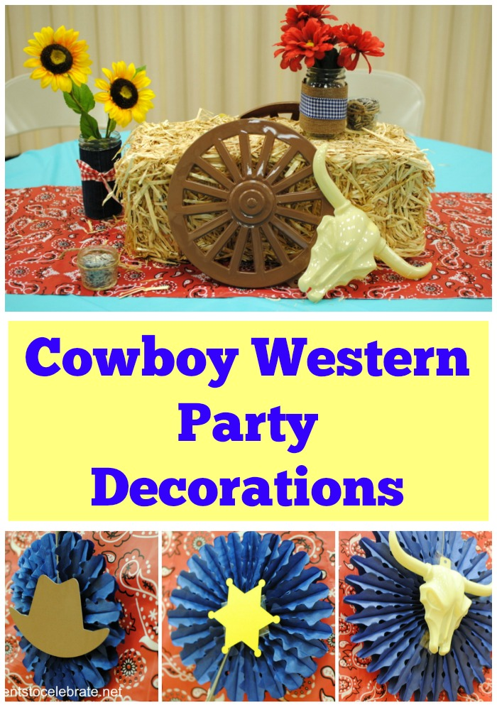 Cowboy Western Party Decorations - eventstocelebrate.net