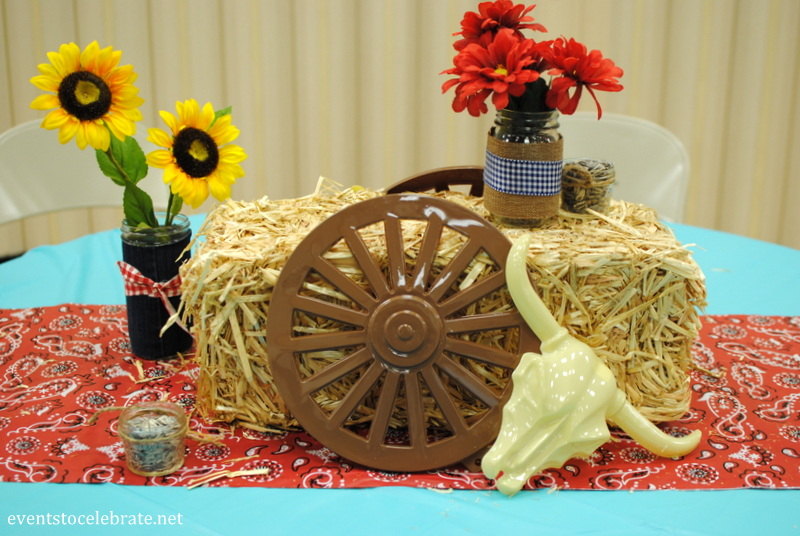 cowboy western party decorations eventstocelebratenet - Western Party Decorations
