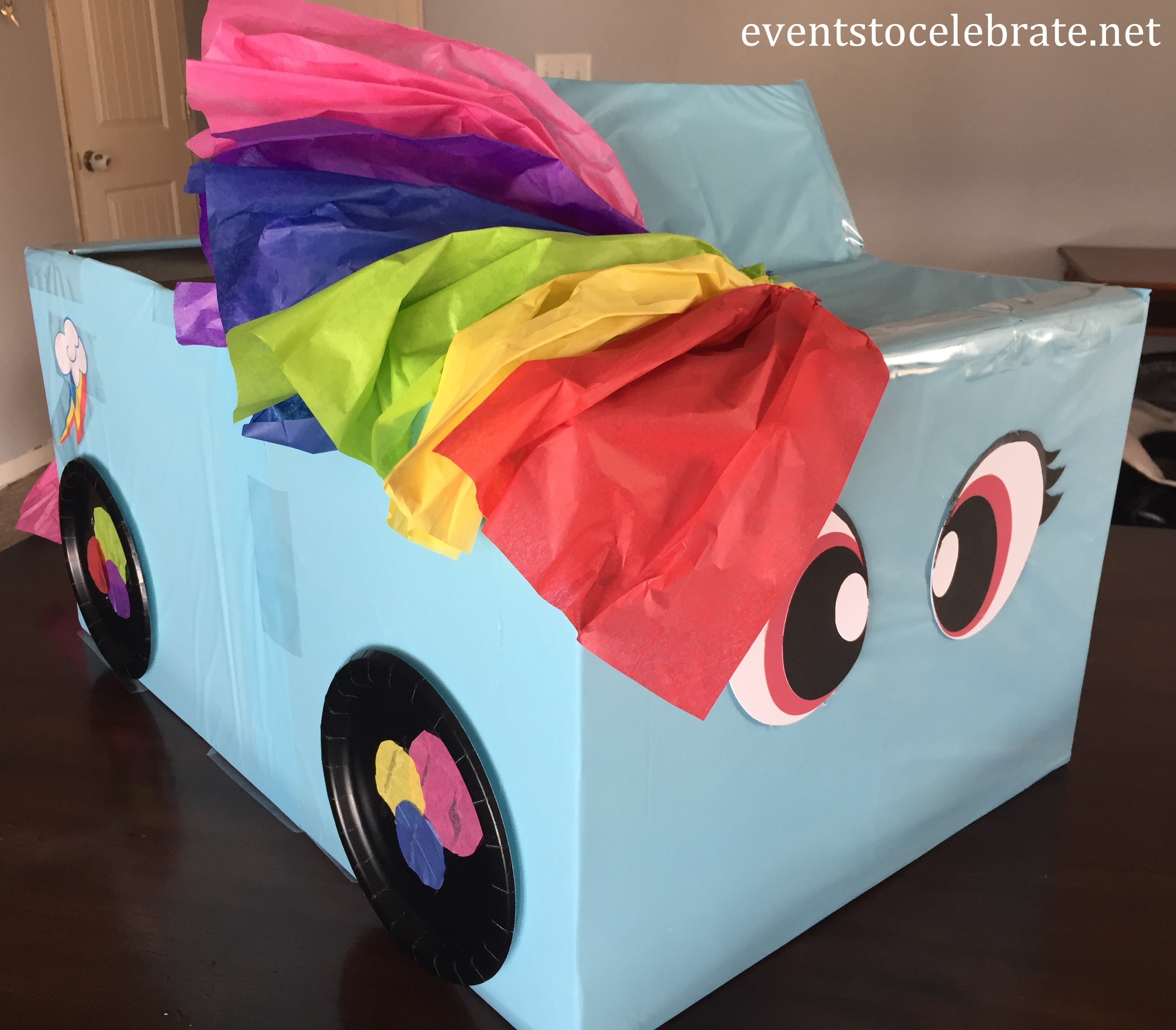 Kindy 500 Car Rainbow Dash - eventstocelebrate.net