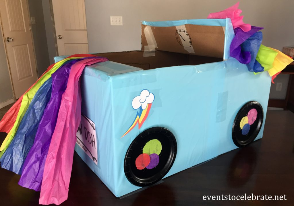 Kindy 500 Car Rainbow Dash - eventstocelebrate.net