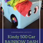Kindy 500 Car RAINBOW DASH