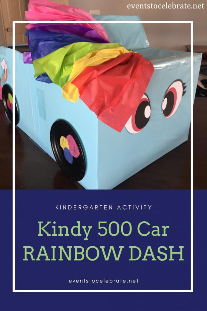 Kindy 500 Car RAINBOW DASH