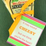 Teacher Appreciation Cheesy Gift Tag
