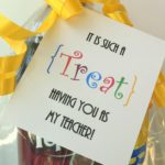 Teacher Appreciation Treat Gift Tag - eventstocelebrate.net
