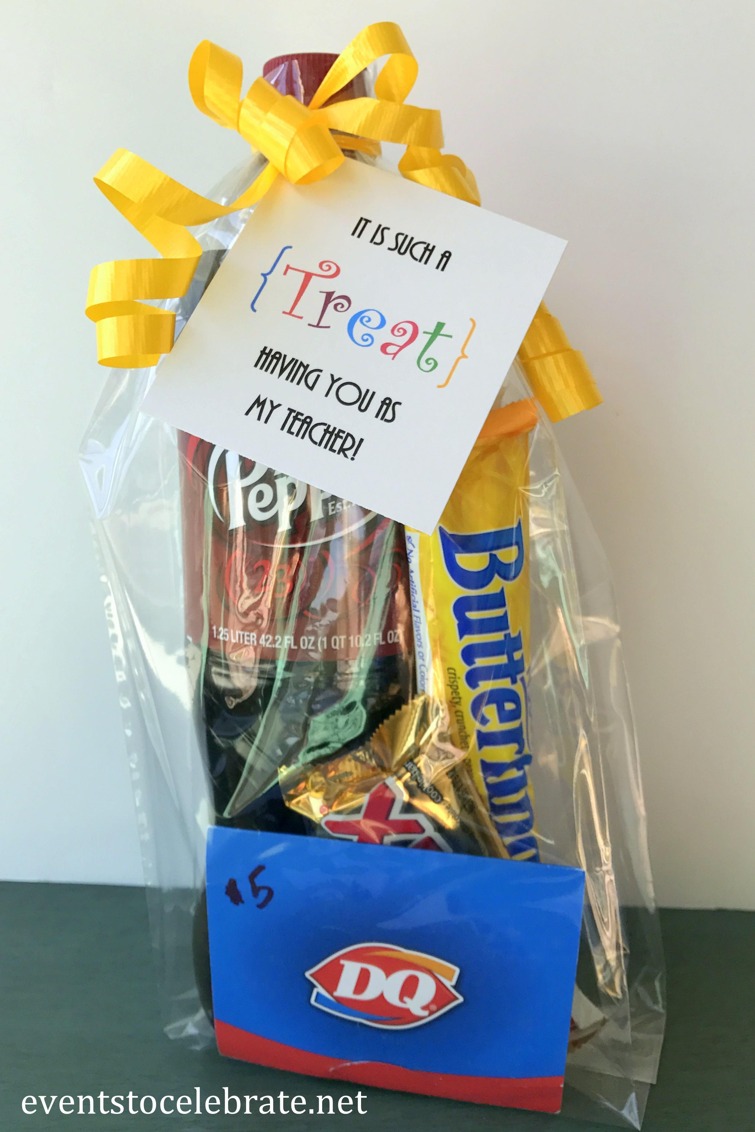 Teacher Appreciation Week 2017 Gifts: Teacher Appreciation Week Treat Gift Tag   events to CELEBRATE!,