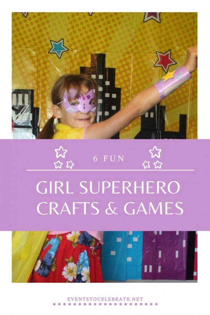 girl superhero party ideas