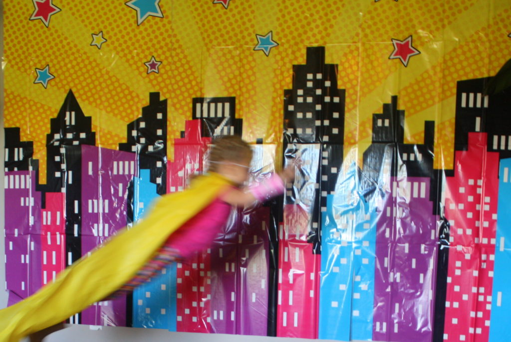 Super Hero Girl Birthday Party: Games and Crafts