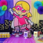 Superhero Girl Birthday Party Ideas