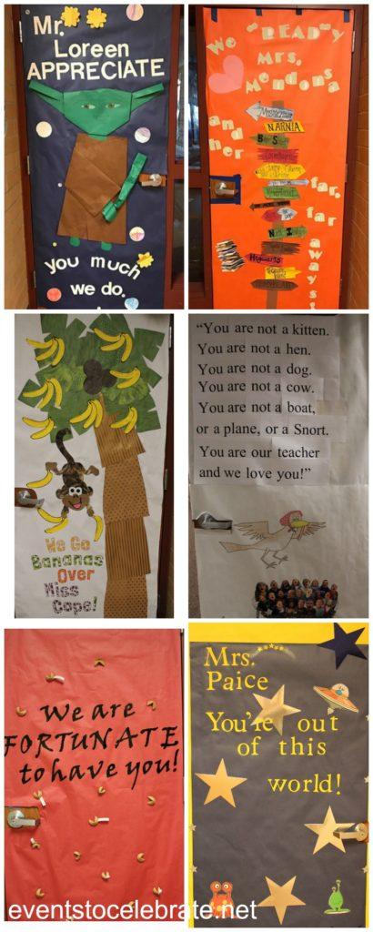 47 Teacher Appreciation Doors