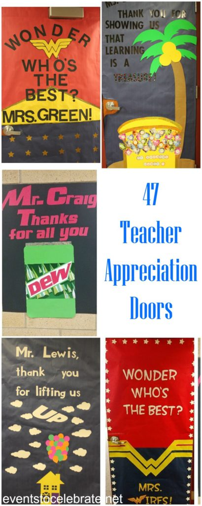 47 Teacher Appreciation Doors