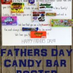 Father's Day Candy Bar Poster - eventstocelebrate.net