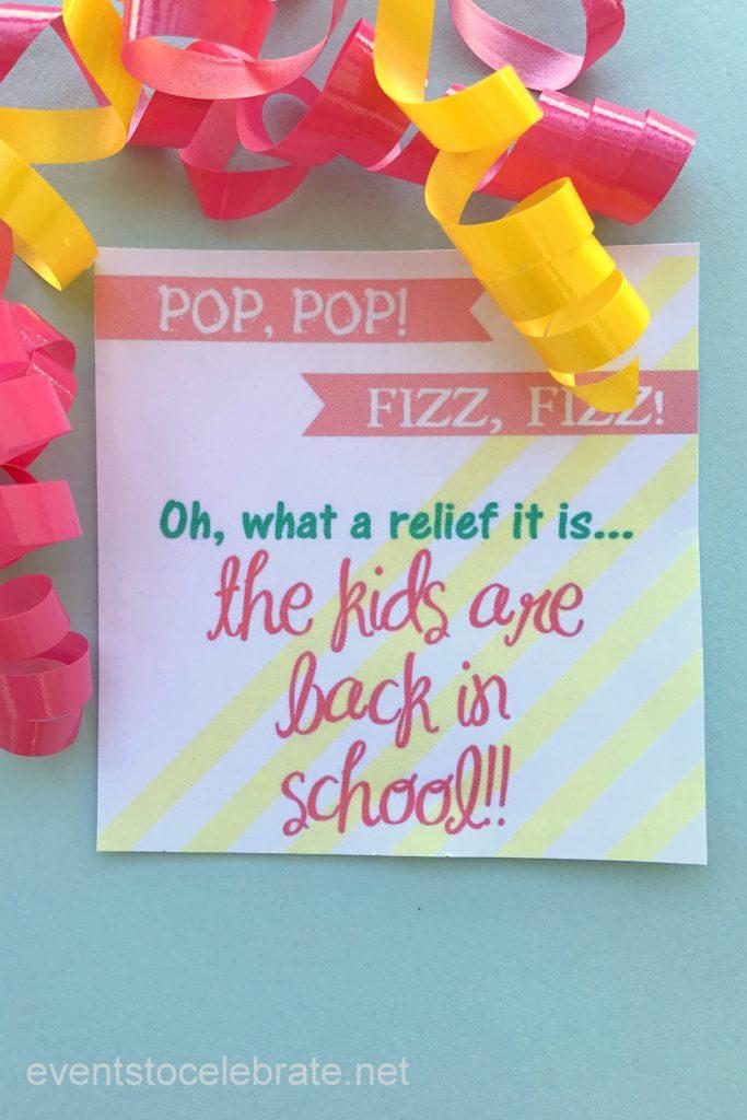 Back To School Gift - eventstocelebrate.net