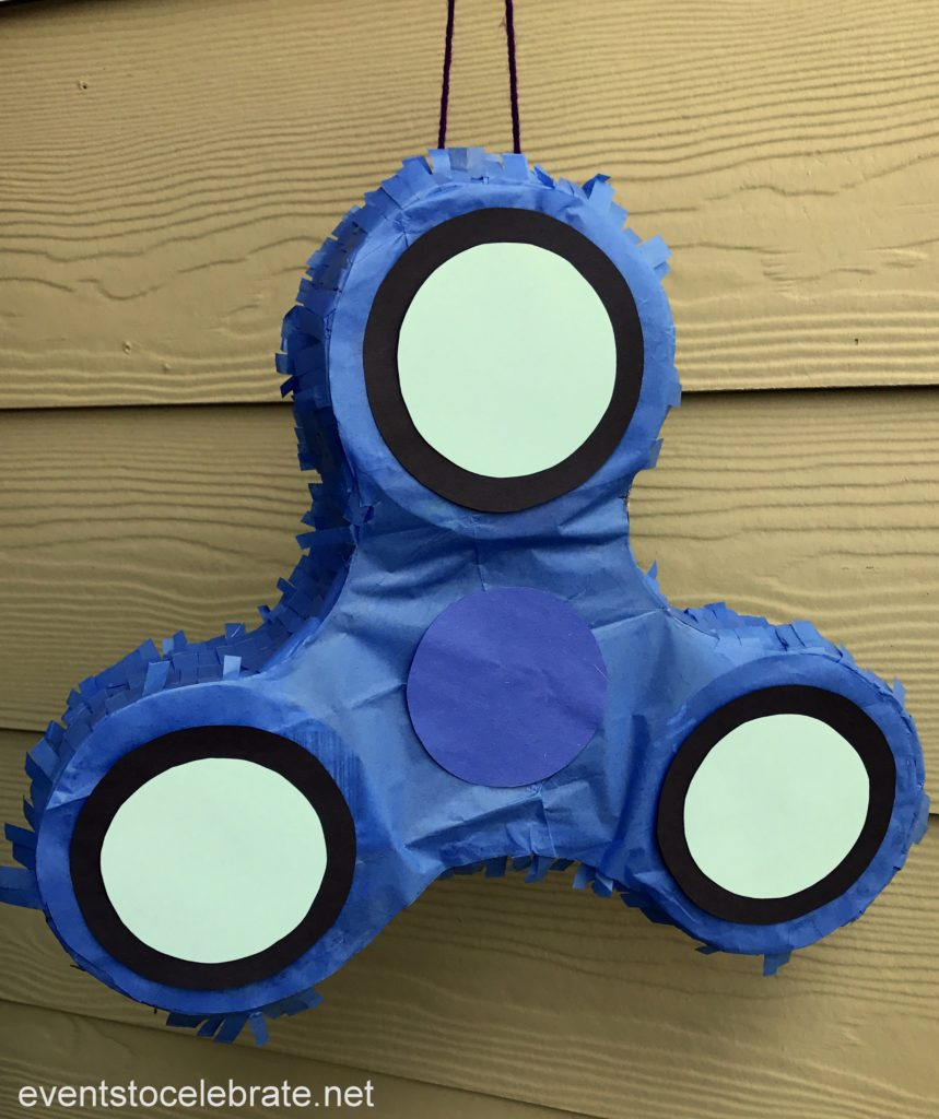 Fidget Spinner Pinata - DIY your kids favorite fidget toy for a perfect Fidget Spinner party!