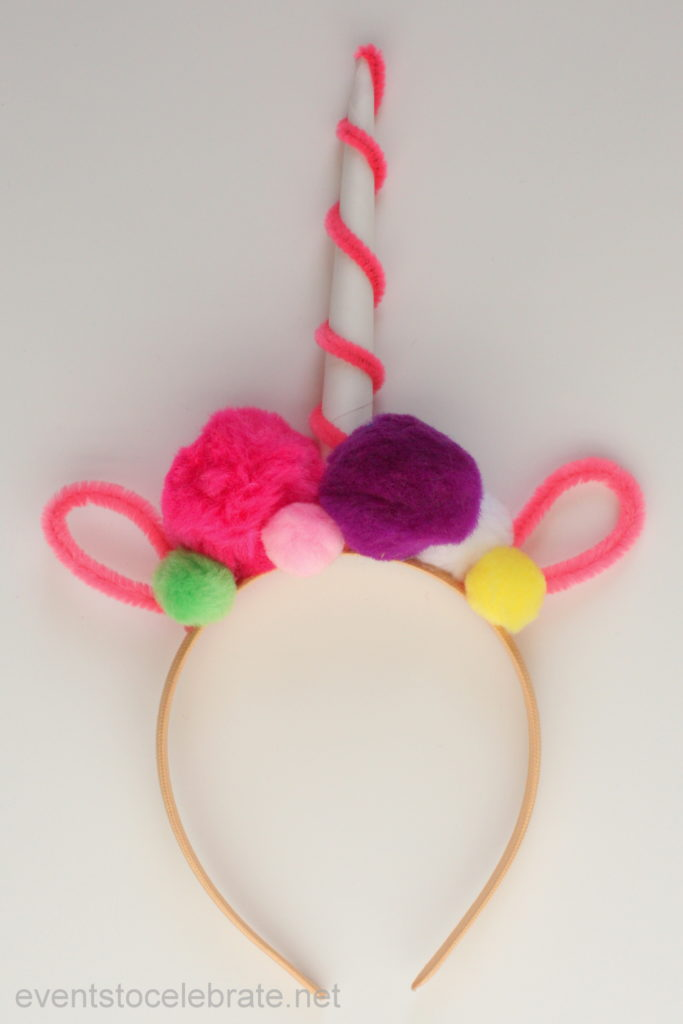 Unicorn Headband - perfect for a Unicorn party!