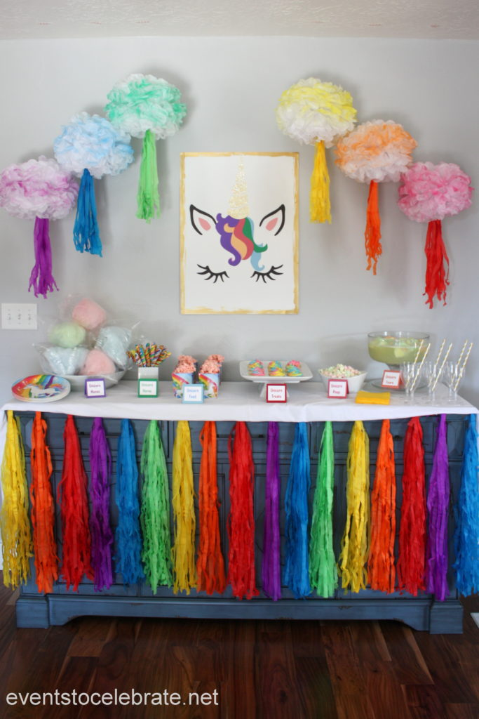 Unicorn Party Decorations And Food Events To CELEBRATE