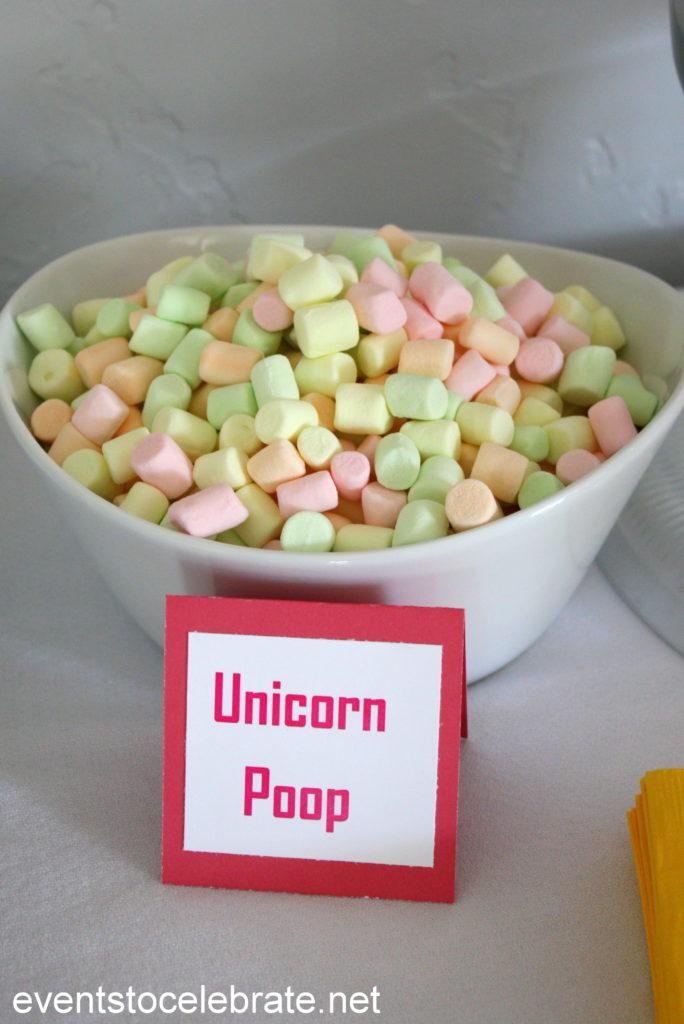 Unicorn Party - Unicorn Poop