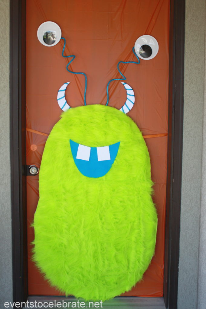 Halloween Door Decoration Monster