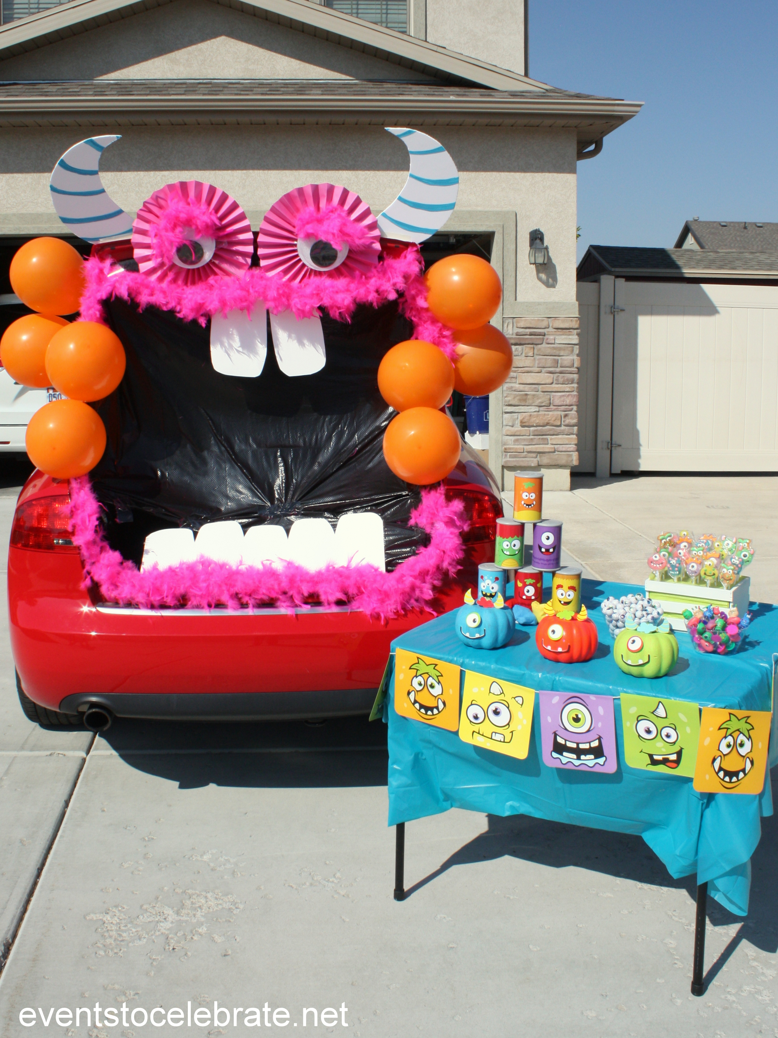 Trunk or Treat Monster - easy to assemble in just a few steps! Youu0027 & Trunk Or Treat Monster - events to CELEBRATE!