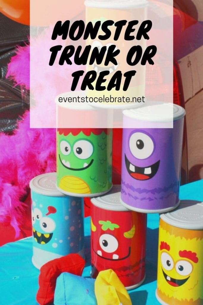 Trunk or treat monster