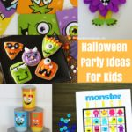 Halloween Party Ideas for Kids - perfect for a Halloween class party, family Halloween party or just a fun Halloween themed family night!