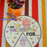 Thanksgiving Thankful Wheel - Thanksgiving Activities for Kids