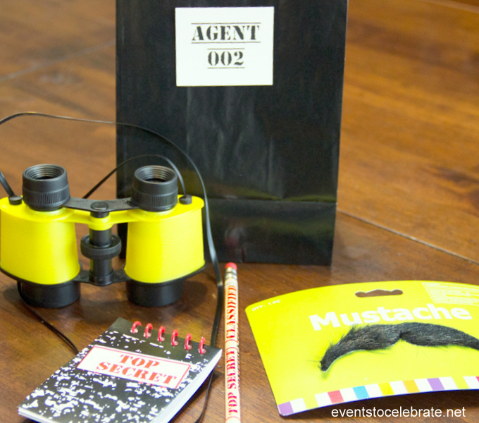 Spy Party: Activities, Favors and Secret Identity fun!