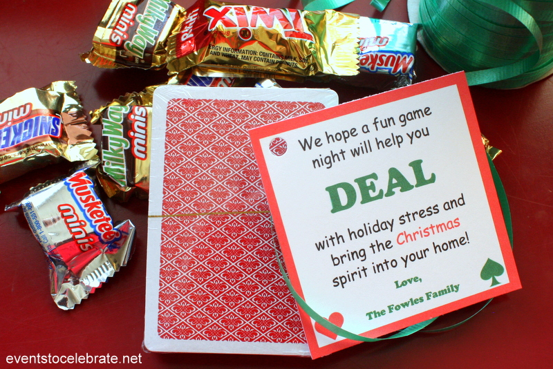 Easy Neighbor Christmas Gift Idea - free gift tag
