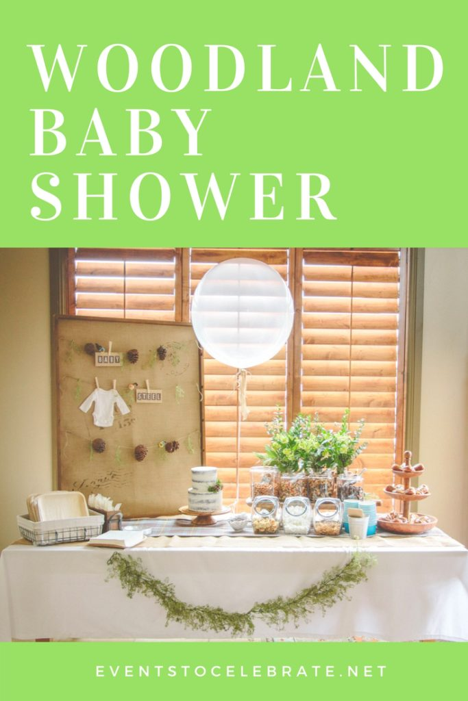 Woodland Baby Shower - Events To Celebrate