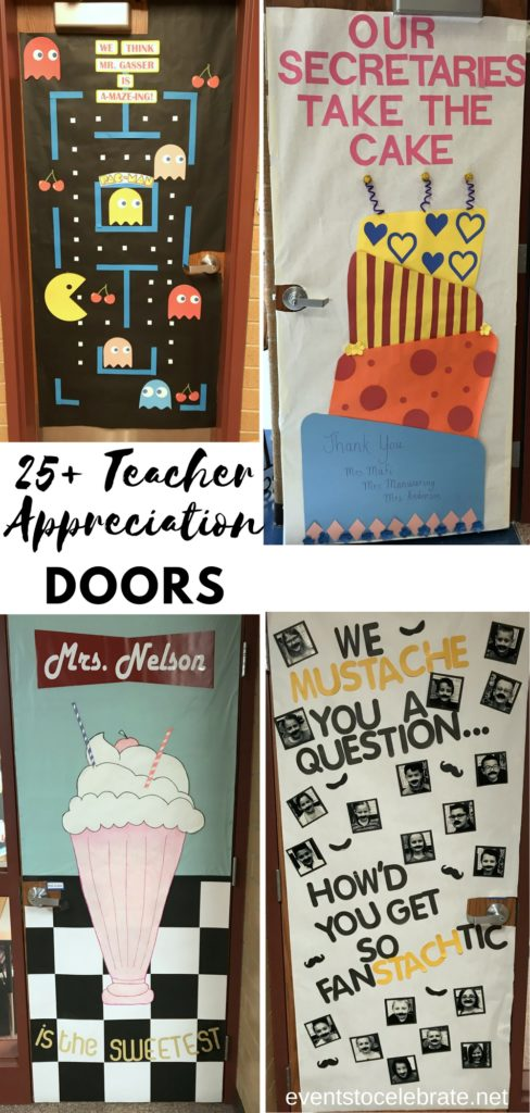 Teacher Appreciation Door Decoration - eventstocelebrate.net