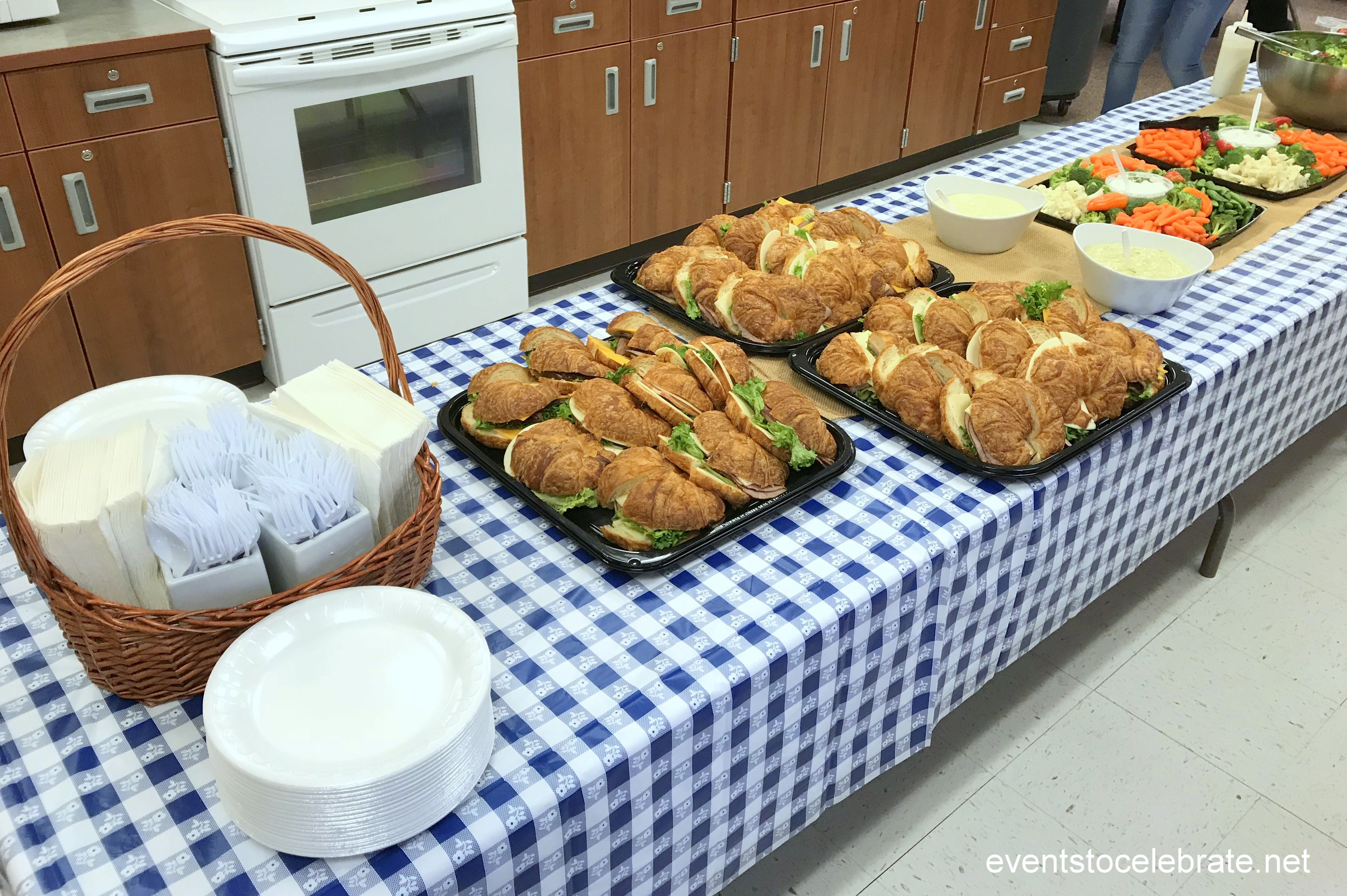 teacher appreciation luncheon picnic theme - events to celebrate!