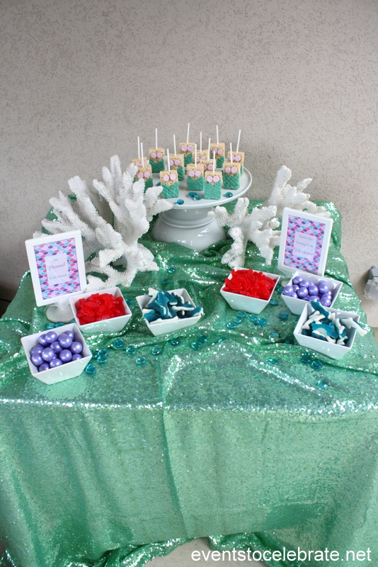 Mermaid Party Ideas: Decorations, Desserts, Activities, Favors and more!