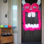 Halloween Door Decoration Monster - eventstocelebrate.net