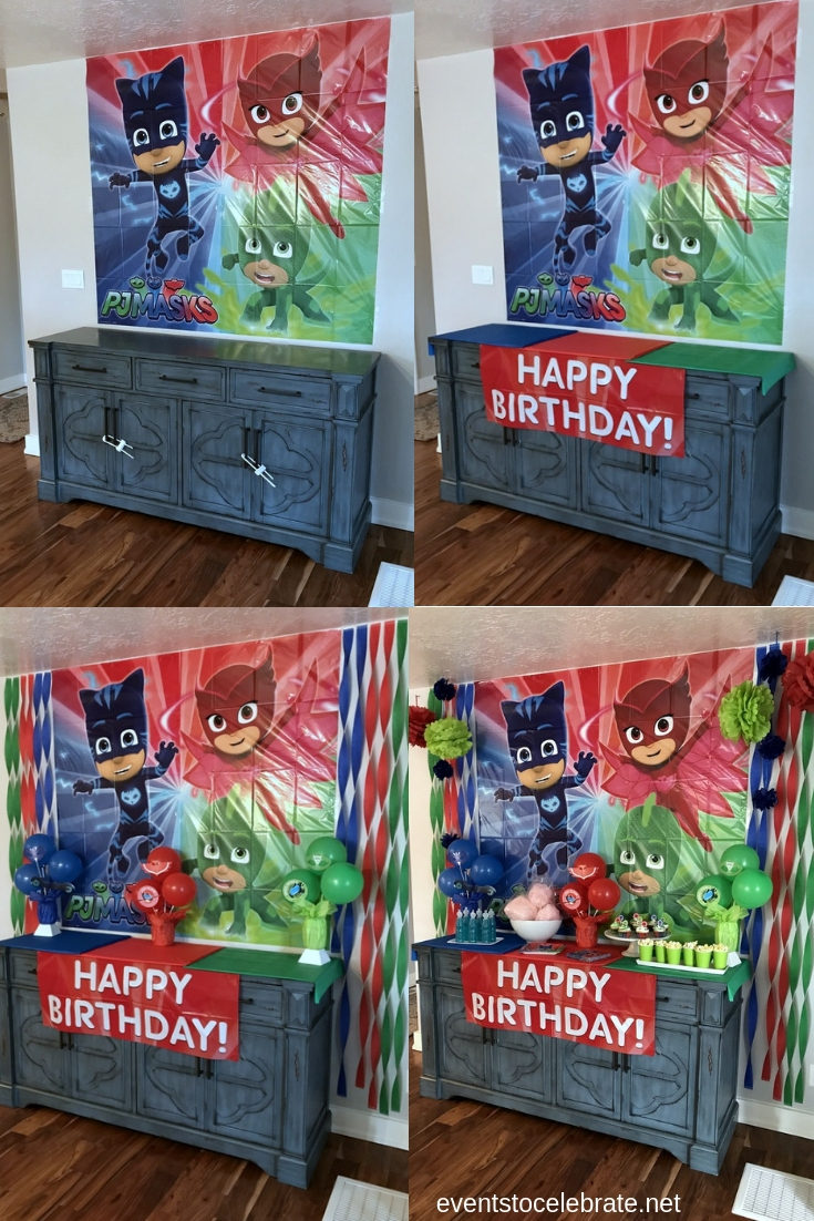PJ Masks Birthday Party Ideas - eventstocelebrate.net