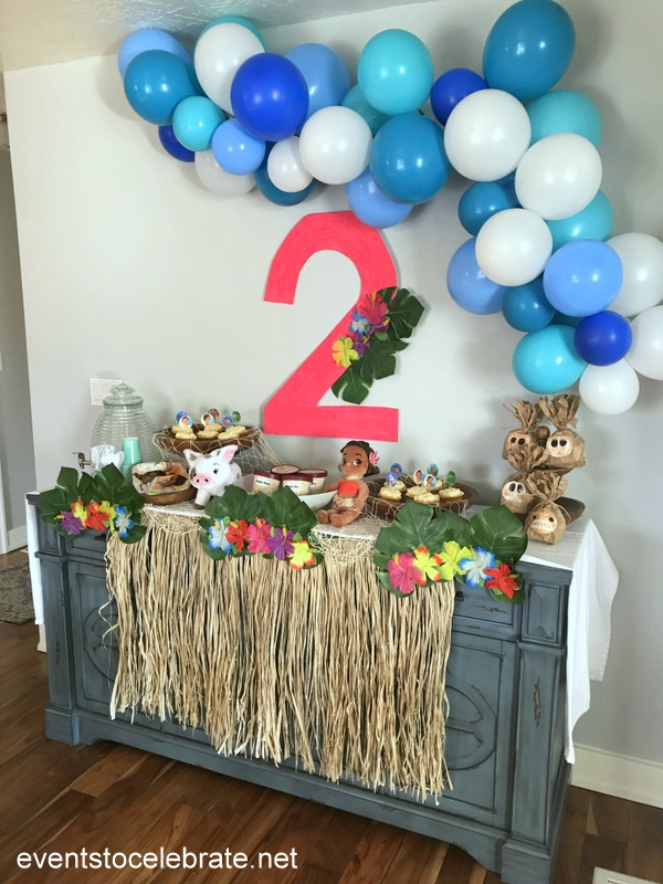 Moana Birthday Party Ideas