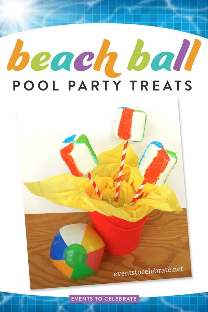 Beach-Ball-Pool-Party-Treats