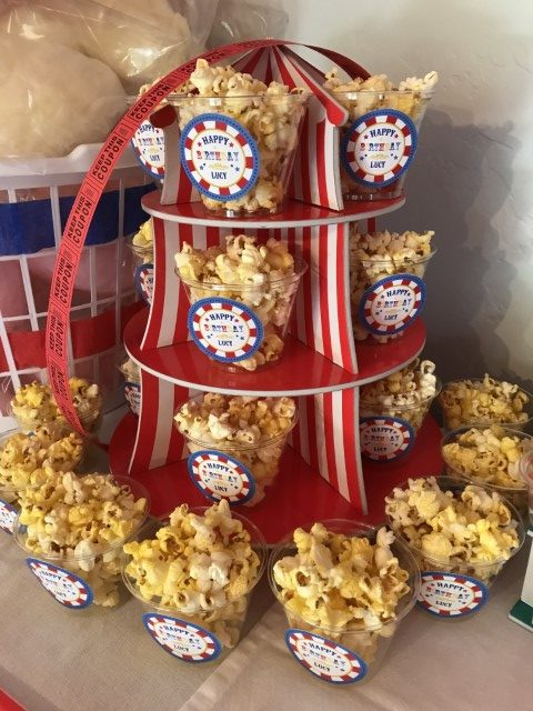 Popcorn for a carnival party
