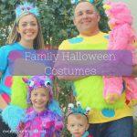 Monster family halloween costumes