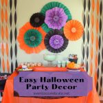 Easy and cheap halloween party decoration