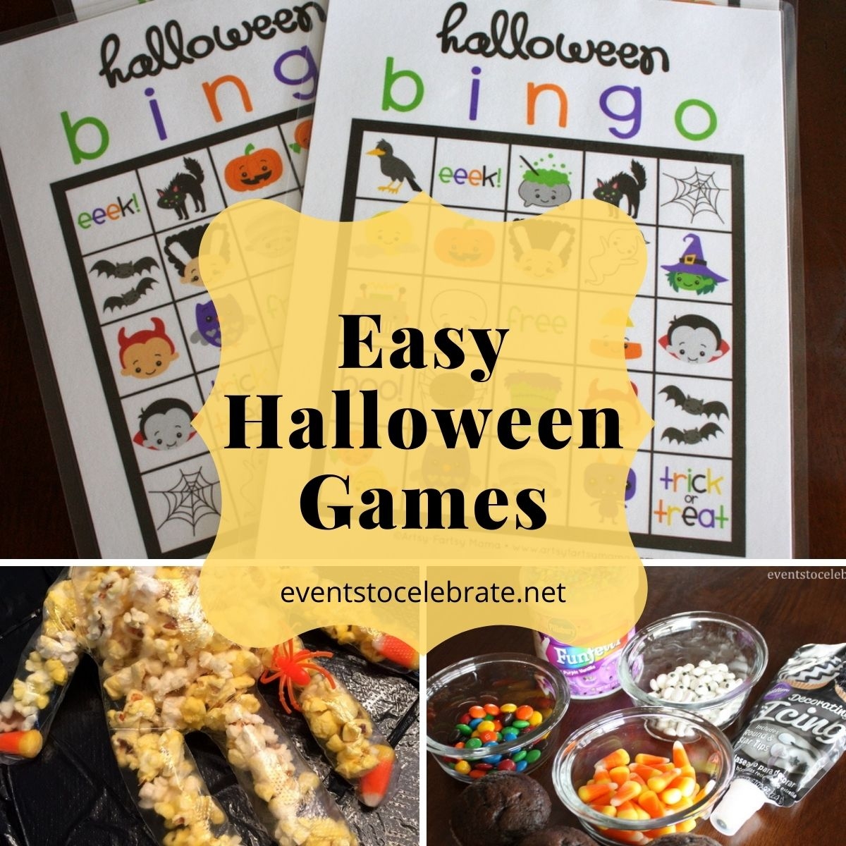 easy halloween activities