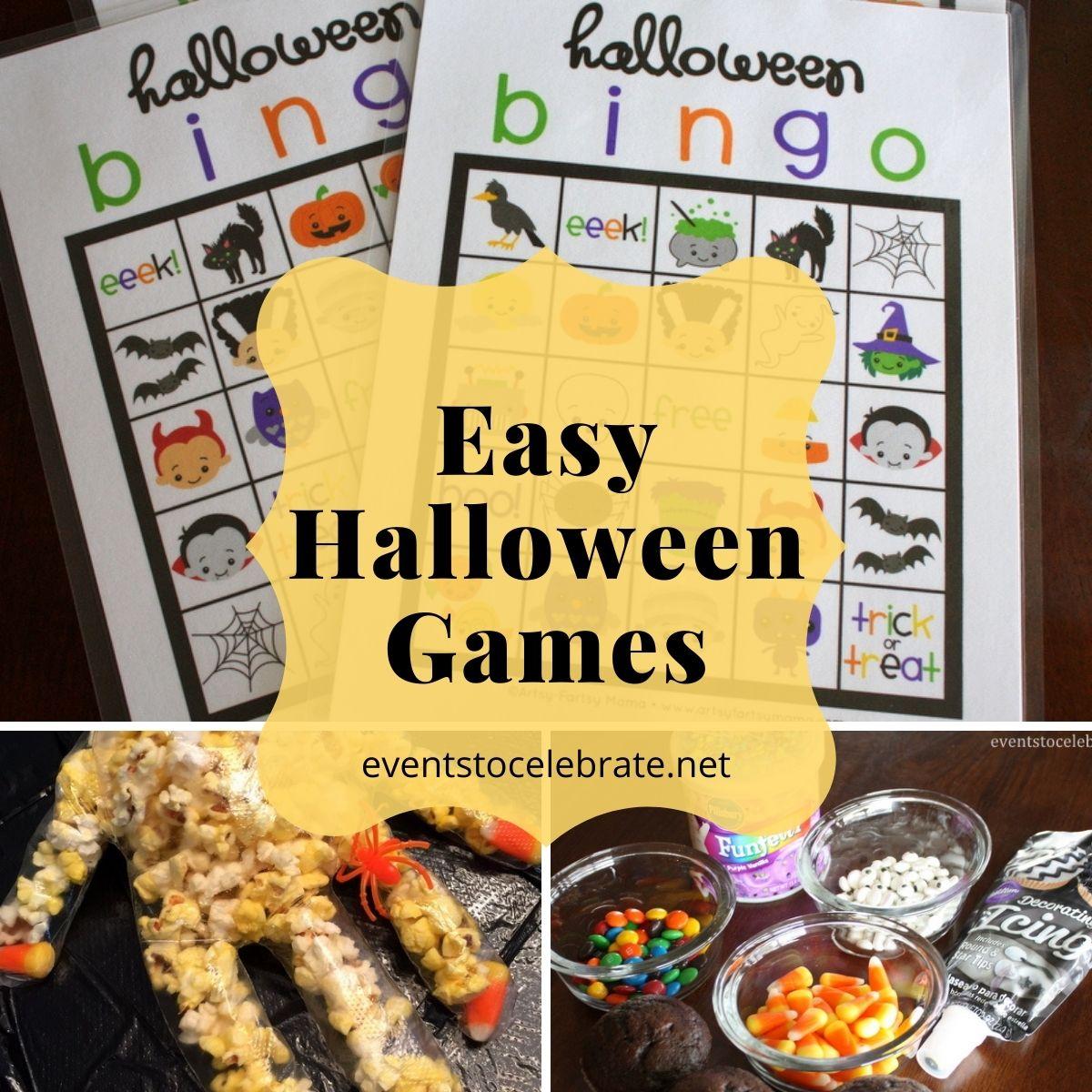 easy halloween activities
