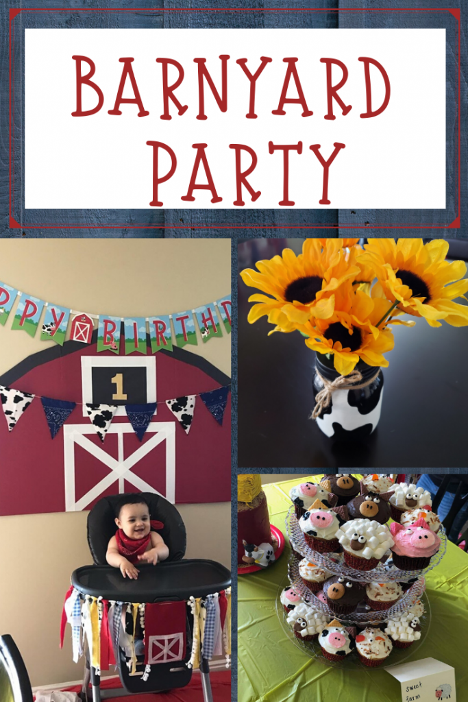 simple and affordable barnyard party