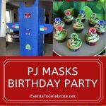 PJ Masks themed Birthday Party