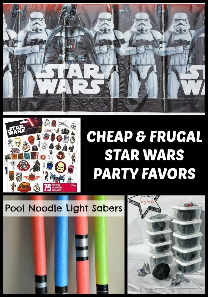 Cheap & Frugal Star Wars Party Favors