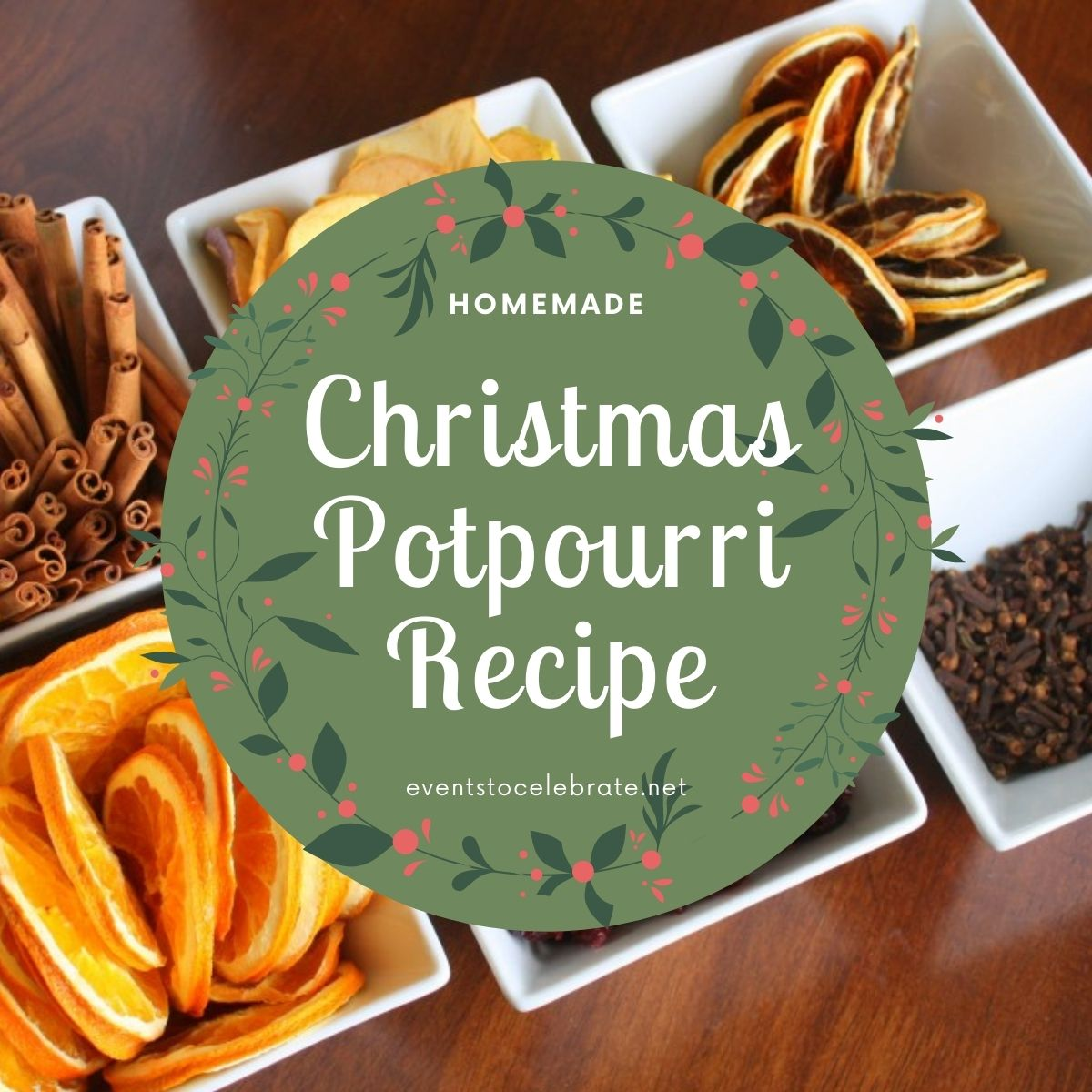 Homemade Christmas Potpourri Recipe