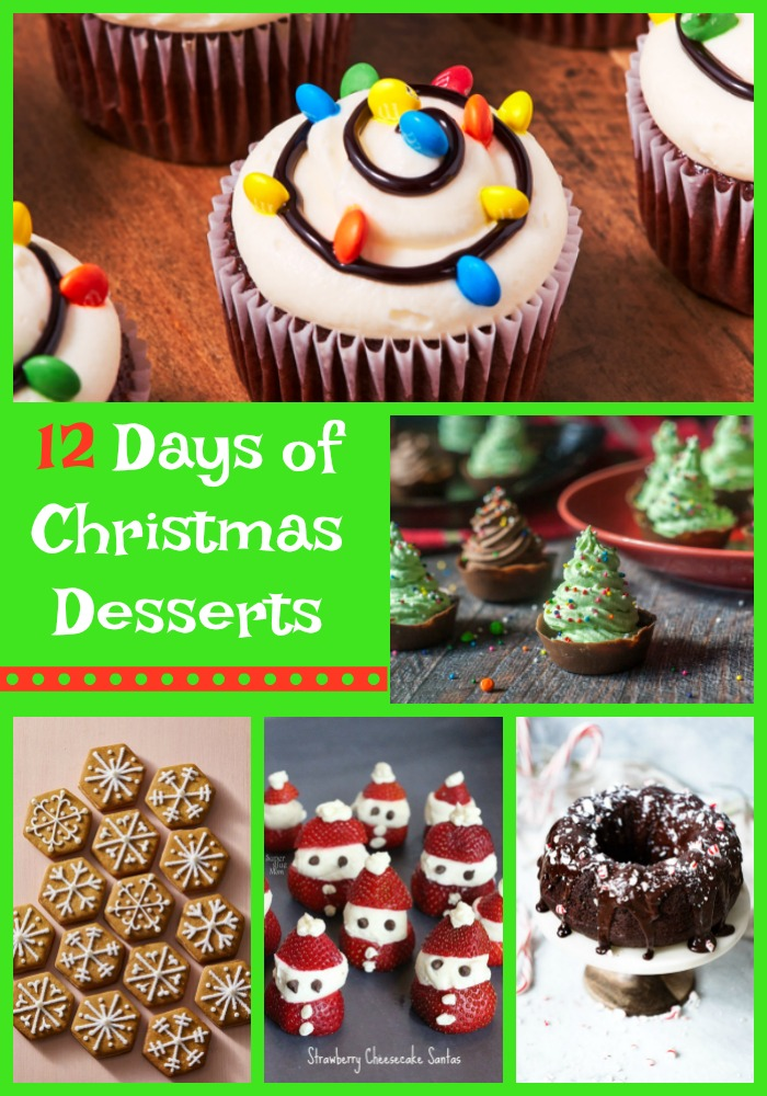 12 Days of Christmas Desserts--Events to Celebrate